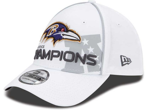 Baltimore Ravens New Era NFL Super Bowl XLVII Conference Champ 39THIRTY Cap Hats
