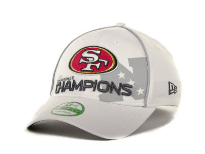 San Francisco 49ers NFL Youth Super Bowl XLVII Conference Champ 39THIRTY Hats
