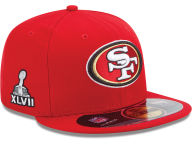 New Era NFL Super Bowl XLVII On Field Patch 59FIFTY Cap Fitted Hats