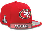 San Francisco 49ers New Era NFL Youth Super Bowl XLVII On Field Patch 59FIFTY Cap Fitted Hats
