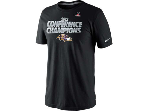 Baltimore Ravens Nike NFL 2012 Conference Champs T-Shirt