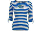 Florida Gators NCAA Womens Striped Boat Neck T-Shirt T-Shirts