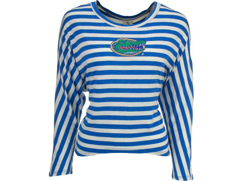 Florida Gators NCAA Womens Striped Dolman Shirt