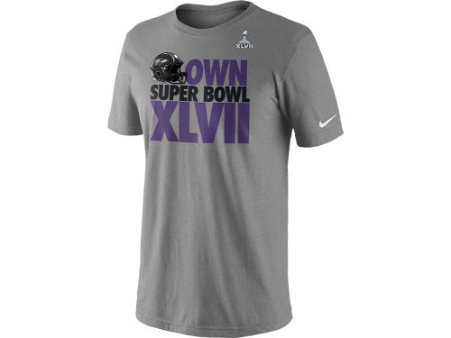 Baltimore Ravens Nike NFL Super Bowl XLVII Own the Super Bowl T-Shirt