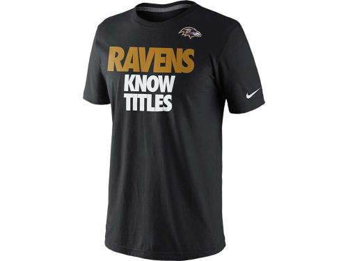 Baltimore Ravens Nike NFL Super Bowl XLVII Team Knows T-Shirt
