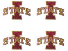 Iowa State Cyclones Glitter Face Tattoo Gameday & Tailgate