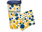 West Virginia Mountaineers Tervis Tumbler NCAA 24oz. Polka Dot Tumbler With Lid BBQ & Grilling