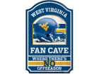 West Virginia Mountaineers Wincraft 11x17 Wood Sign Flags & Banners