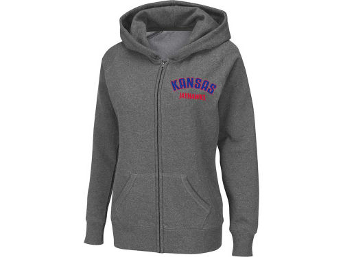 Kansas Jayhawks Colosseum NCAA Womens Vegas Full Zip Hoody