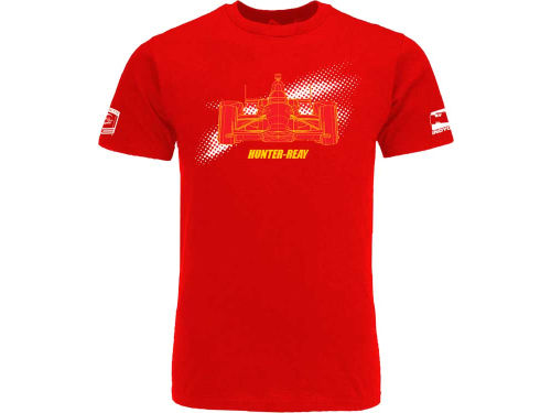 Ryan Hunter-Reay IndyCar Wire Frame Tech T-Shirt
