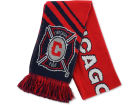 Chicago Fire MLS Slant Stripe Scarf Apparel & Accessories