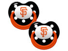 San Francisco Giants MLB Pacifier 2 pack Newborn & Infant