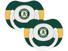 Oakland Athletics 2-pack Pacifier Set Newborn & Infant