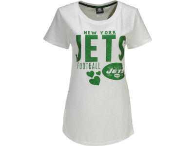New York Jets NFL Womens Baby Jersey Crew T-Shirt