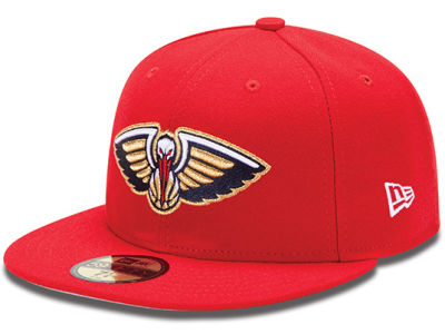 New Orleans Pelicans NBA Release Logo 59FIFTY Cap Hats
