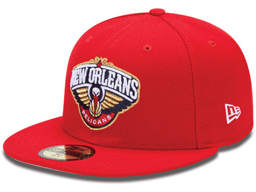 New Orleans Pelicans New Era NBA Release Logo 59FIFTY Cap Hats