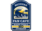 Michigan Wolverines Wincraft 11x17 Wood Sign Flags & Banners