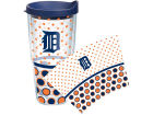 Detroit Tigers Tervis Tumbler 24oz. Polka Dot Tumbler With Lid BBQ & Grilling