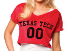 Texas Tech Red Raiders NCAA Womens Crop Mesh Jersey Jerseys