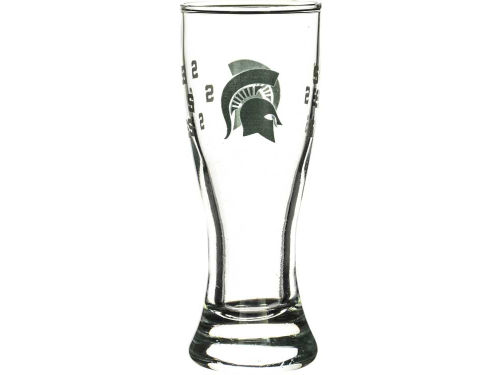 Michigan State Spartans Boelter Brands Satin Etch Mini Pilsner