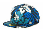Los Angeles Dodgers New Era MLB Florical 59FIFTY Cap Fitted Hats