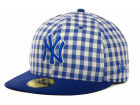 New York Yankees New Era MLB G-Plaid 59FIFTY Cap Fitted Hats