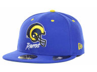 New Era NFL Retro Team Name 59FIFTY Cap Fitted Hats