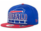 Buffalo Bills New Era NFL Stack Punch 9FIFTY Cap Snapback Hats