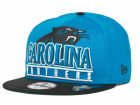 Carolina Panthers New Era NFL Stack Punch 9FIFTY Snapback Cap Hats