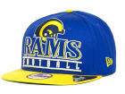 Los Angeles Rams New Era NFL Stack Punch 9FIFTY Cap Snapback Hats