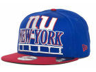 New York Giants New Era NFL Stack Punch 9FIFTY Snapback Cap Hats