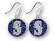 Glitter Dangle Earrings Aminco Gameday & Tailgate