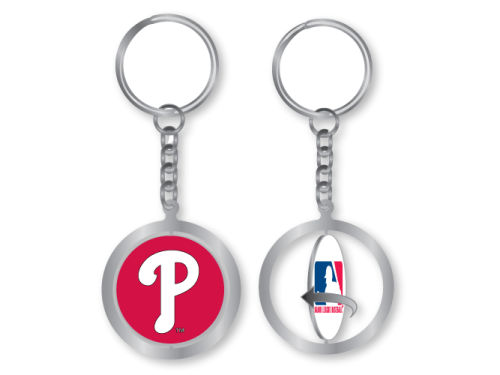 Philadelphia Phillies Aminco Inc. Spinning Keychain