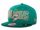 Miami Dolphins New Era NFL 2013 Logo Change 9FIFTY Cap Snapback Hats