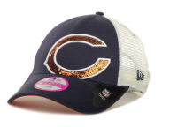 New Era NFL Sequin Shimmer 9FORTY Cap Adjustable Hats