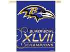 Baltimore Ravens Wincraft NFL Super Bowl XLVII Champ 27x37 Vertical Flag Flags & Banners