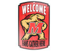 Maryland Terrapins Wincraft 11x17 Wood Sign Flags & Banners