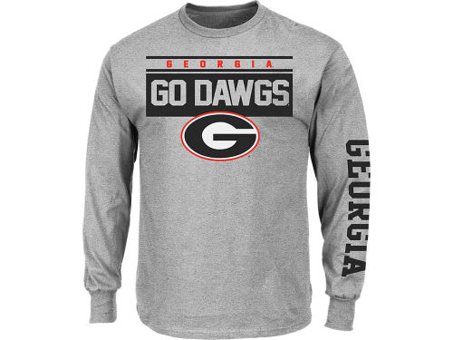 Georgia Bulldogs VF Licensed Sports Group NCAA Breathe Victory Long Sleeve T-Shirt