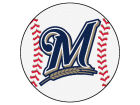 Milwaukee Brewers Baseball Mat Home Office & School Supplies