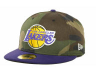 New Era NBA Hardwood Classics Hardwoodland 59FIFTY Cap Fitted Hats