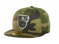 New Era NBA Hardwood Classics Nets 59FIFTY Cap Fitted Hats