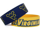 West Virginia Mountaineers Wide Bracelet 2pk Aminco Apparel & Accessories