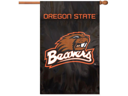 Oregon State Beavers Applique House Flag