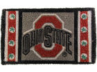 Ohio State Buckeyes Graphic Print Coir Mat Home Office & School Supplies