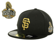 New Era MLB World Series Commemorative Gold AC 59FIFTY Cap Fitted Hats