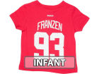 Detroit Red Wings Johan Franzen Outerstuff NHL Infant Player T-Shirt Infant Apparel