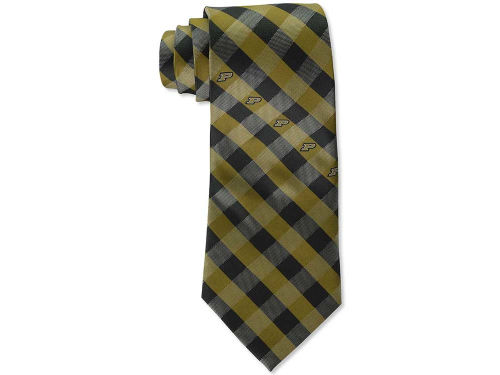 Purdue Boilermakers Eagles Wings Polyester Checked Tie