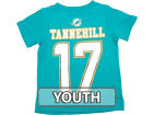 Miami Dolphins Ryan Tannehill Outerstuff NFL Youth Big Number T-Shirt T-Shirts