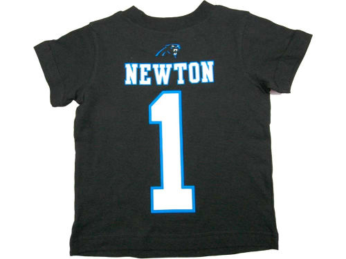 Carolina Panthers Cam Newton Outerstuff NFL Youth Big Number T-Shirt