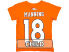 Denver Broncos Peyton Manning Outerstuff NFL Kids Big Number T-Shirt T-Shirts